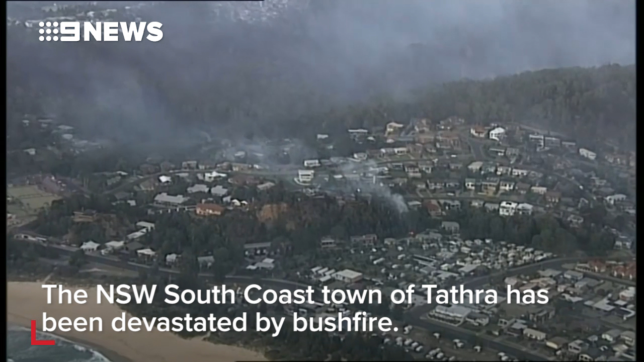 Families devastated after losing their homes in Tathra