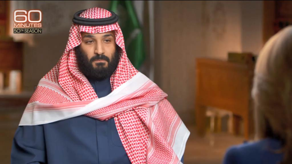Heir to throne speaks on a new vision for Saudi Arabia