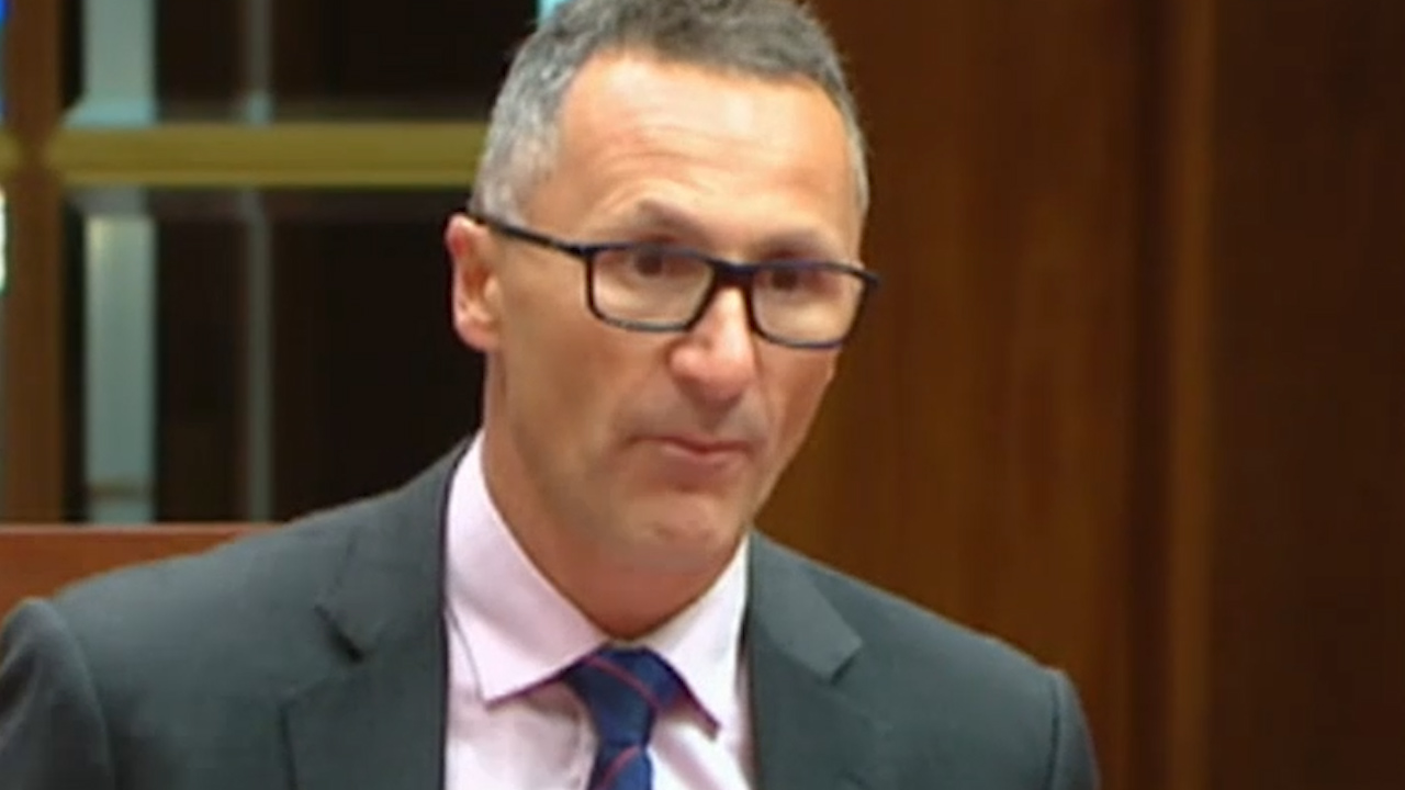 Greens link bushfires to climate change