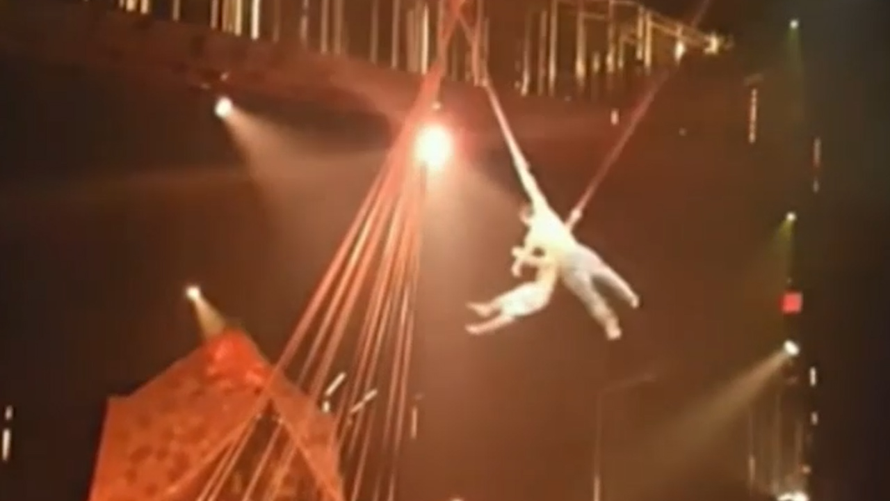 Circus performer falls to his death in Florida