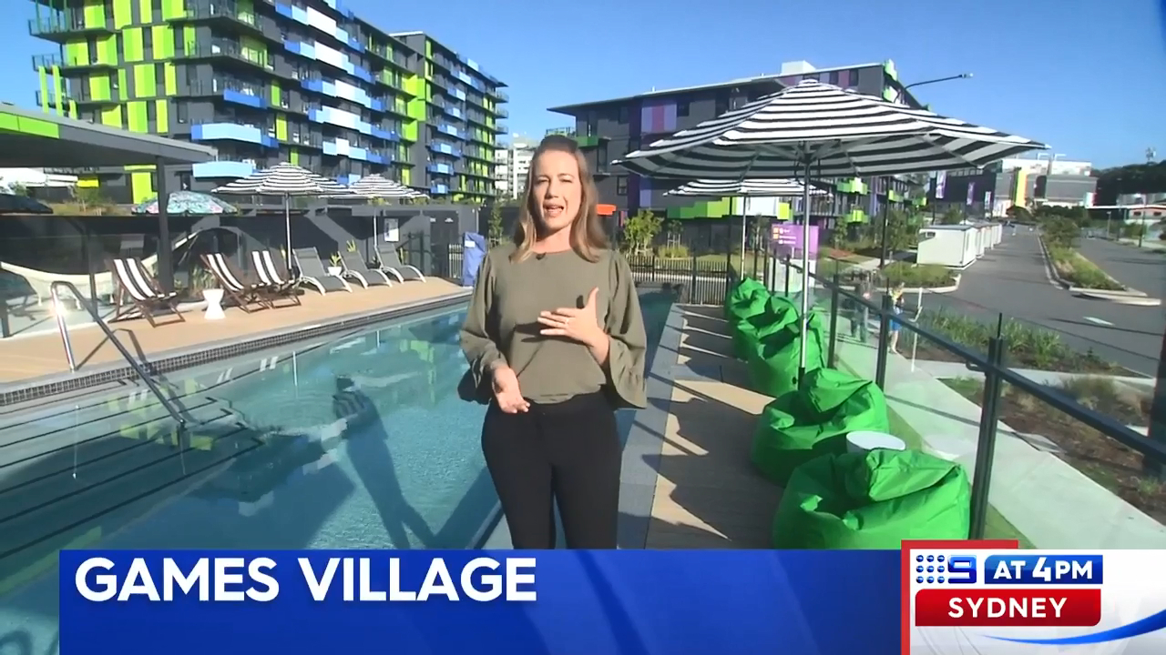 Comm Games athletes village reveals