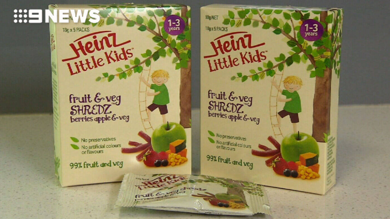 Heinz kids' snacks found to be 'misleading' by court