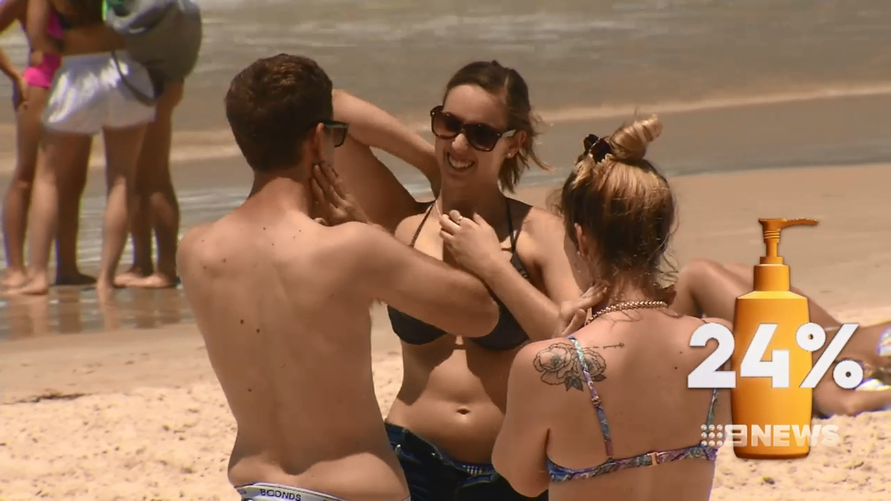 New research shows Aussie aren't using sunscreen properly