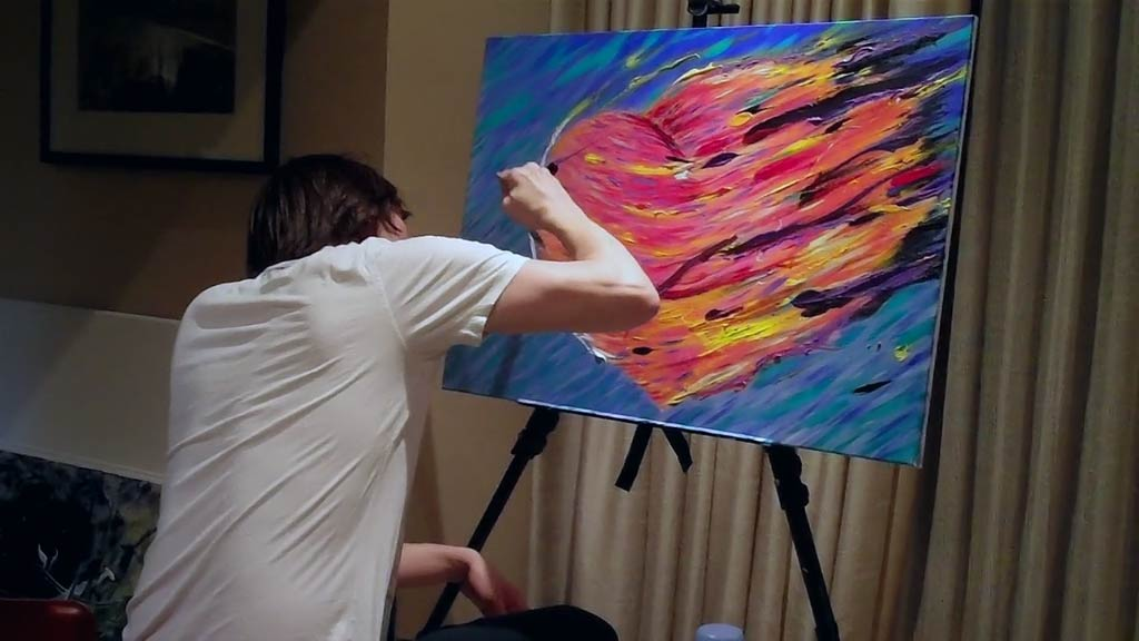 Jim Carrey discusses healing his broken heart with art