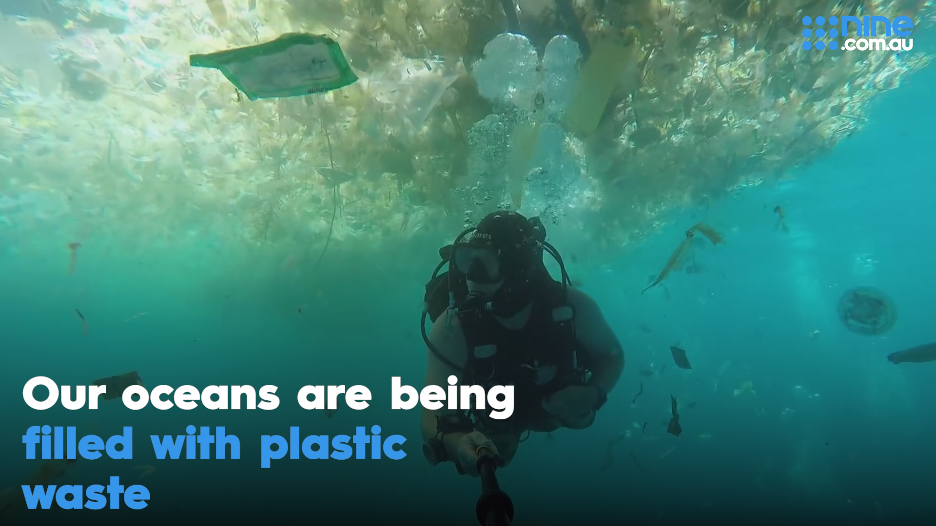 Our oceans are being filled with plastic waste