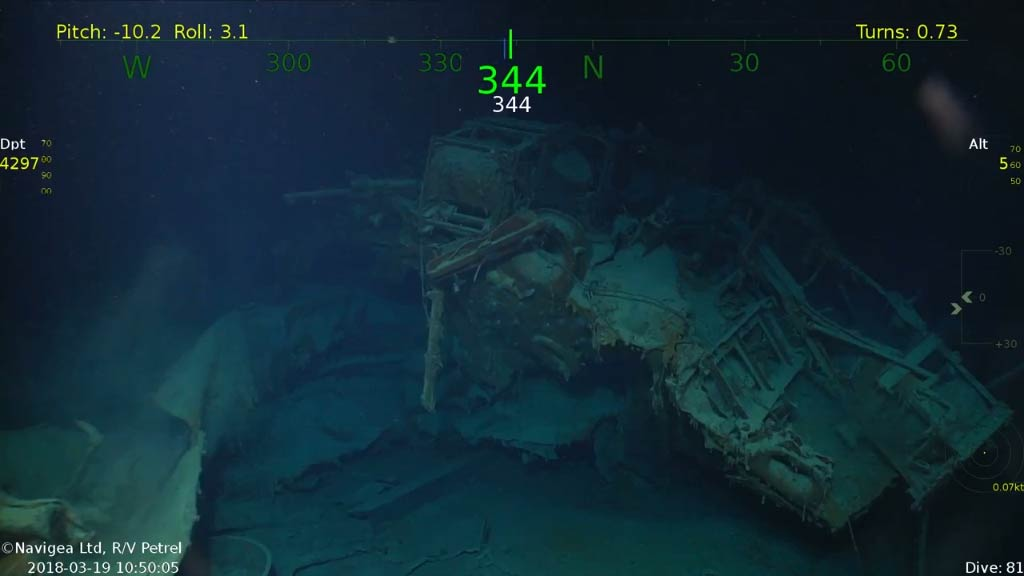 World War ll USS Juneau wreckage found