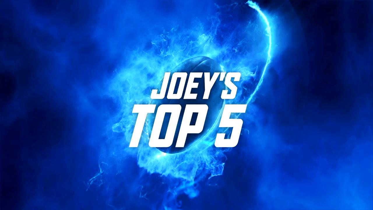 Joey's Top 5: Round 2