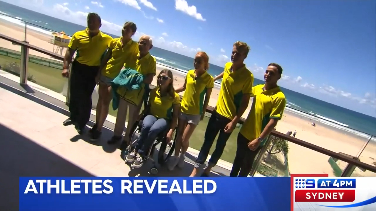 Aussie Comm Games team revealed