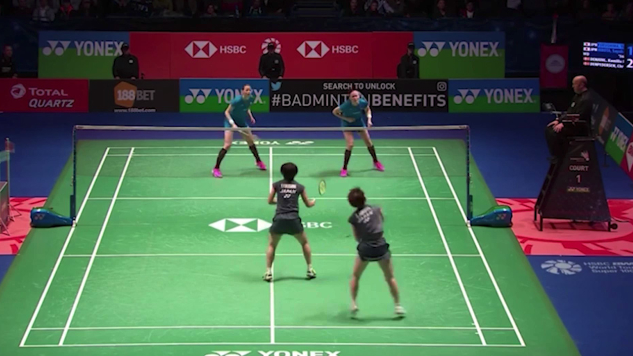 Crowd stunned by endless badminton rally