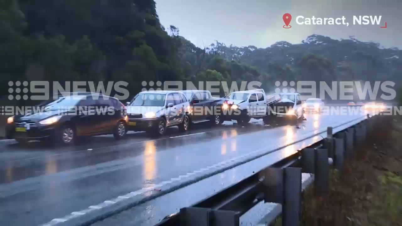 Multi-vehicle crash south of Sydney
