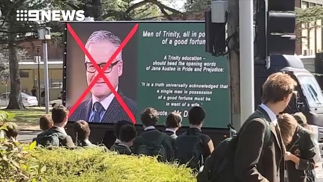 Trinity Grammar protests continue