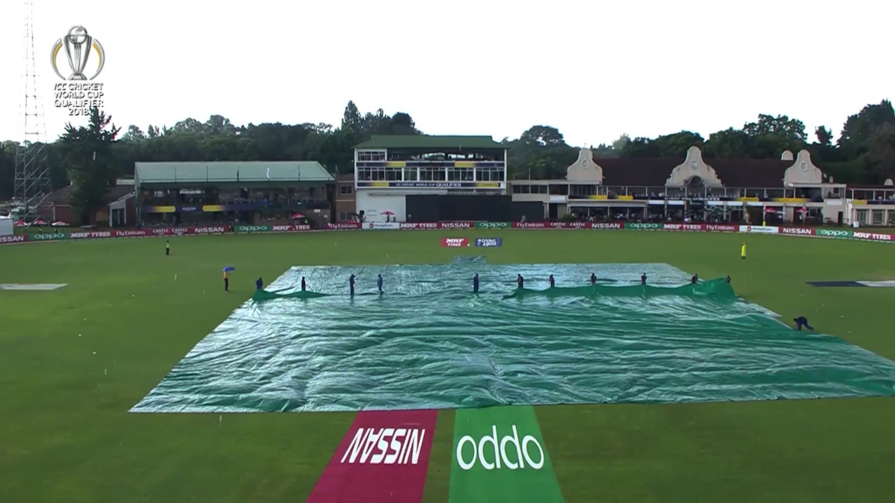 Rain saves Windies from World Cup humiliation