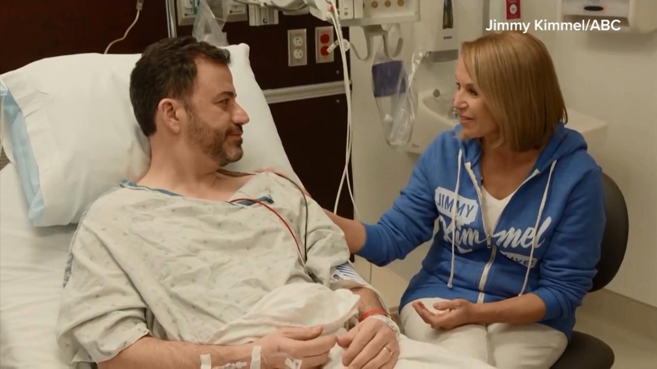 Jimmy Kimmel gets first colonoscopy