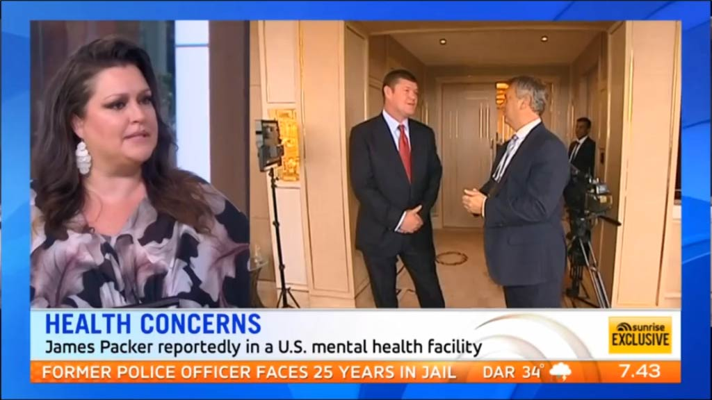 Tziporah Malkah speaks about ex James Packer's mental health