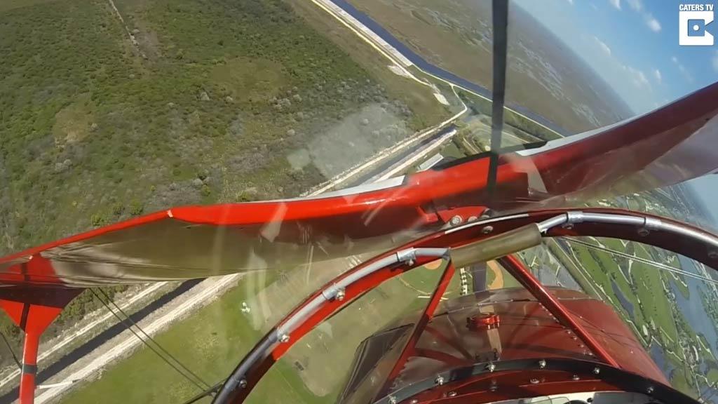 Pilot suffers horror engine failure mid-flight