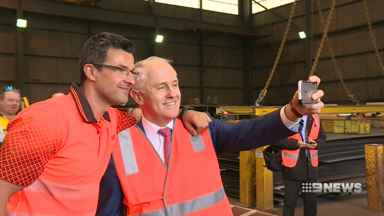 PM visits Wollongong to talk jobs