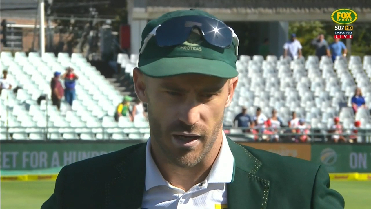 South Africa wins the toss