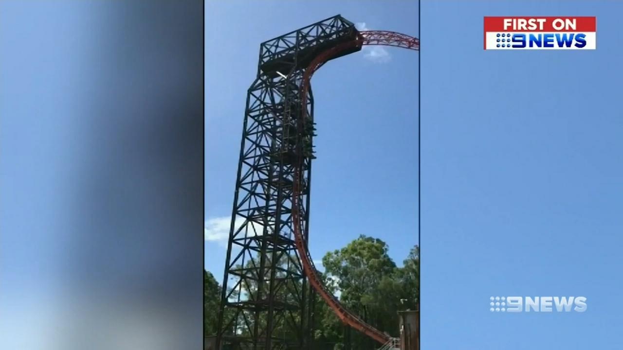 Malfunctioning Dreamworld ride traps terrified thrillseekers
