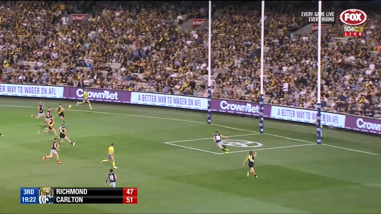 Richmond take lead for first time
