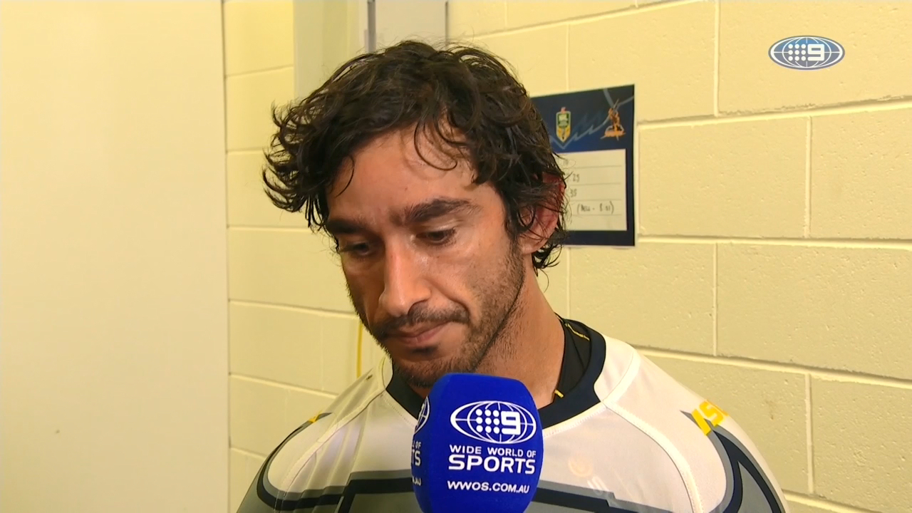 Thurston's touching gesture to bushfire victims