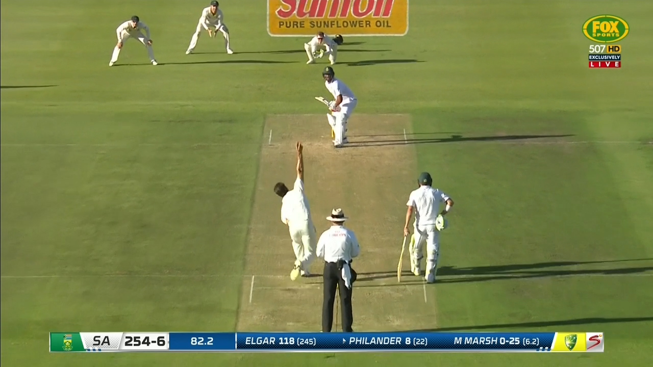Marsh gets Philander