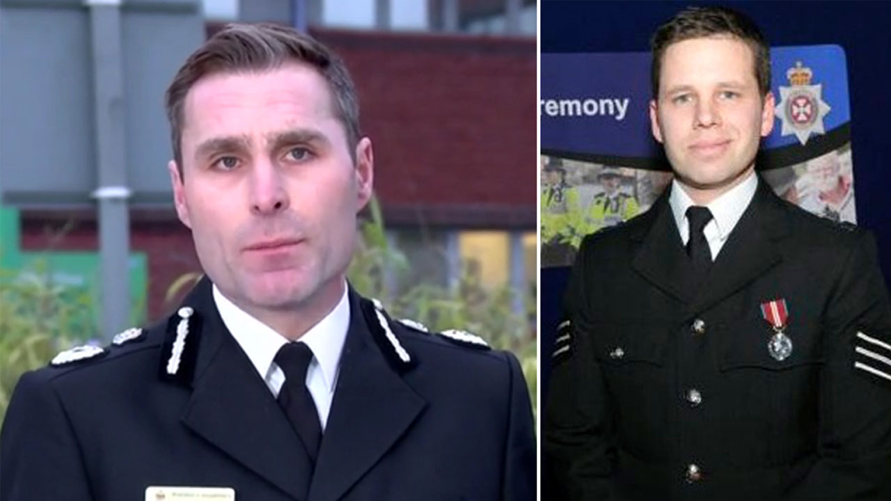Police officer discharged after spy poison attack