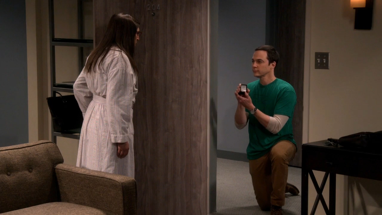 Sheldon proposes to Amy on 'Big Bang Theory'