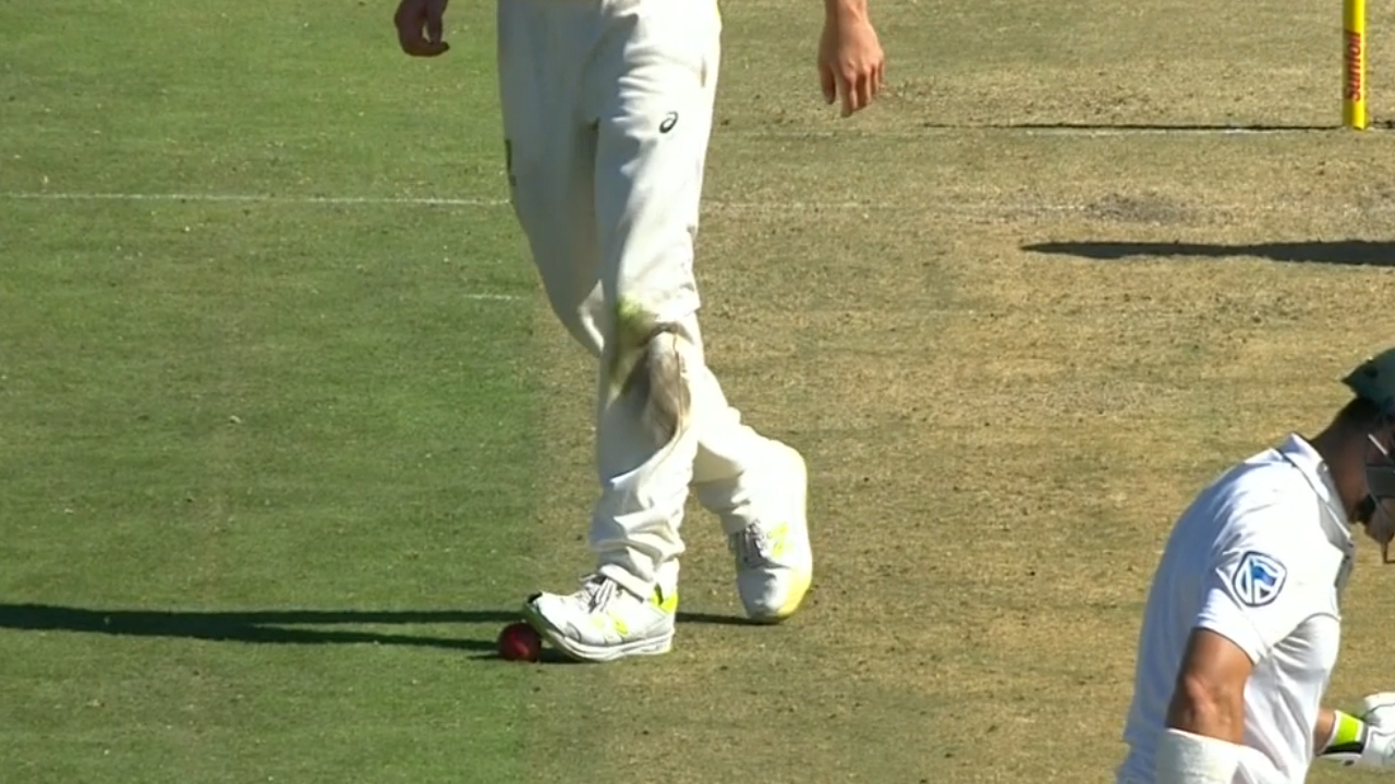 'Accidentally on purpose': Smith on Cummins ball trod