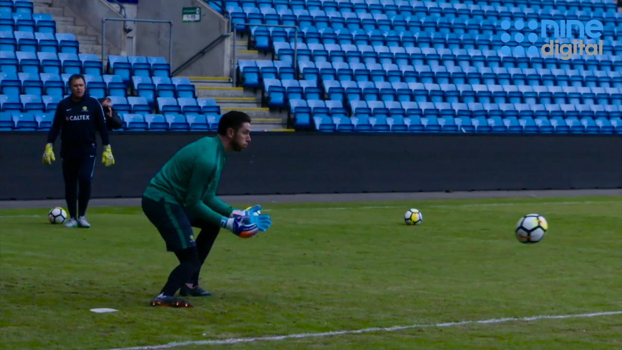 Socceroo keepers train ahead of Norway clash