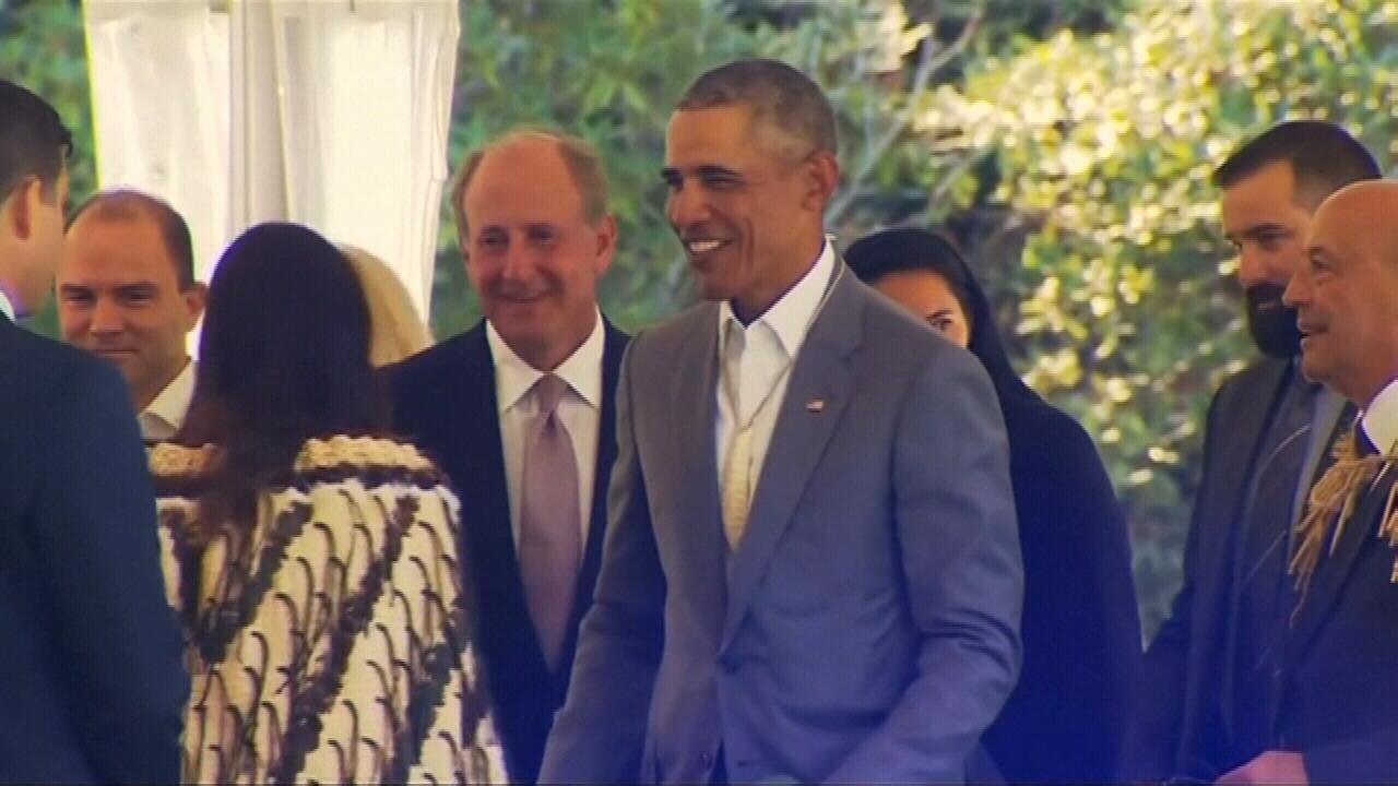 Barack Obama's whirlwind visit to Australia