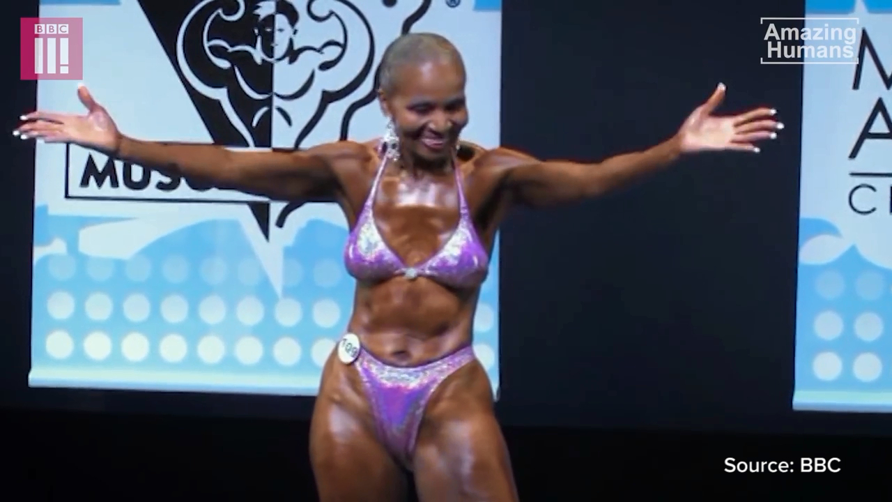 Elderly bodybuilder will continue until her 'last breath'