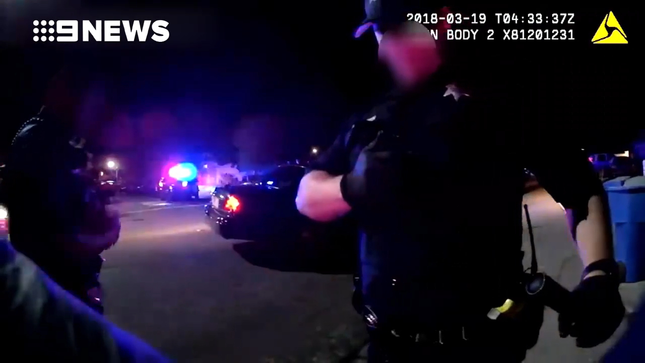 Police shooting caught on camera