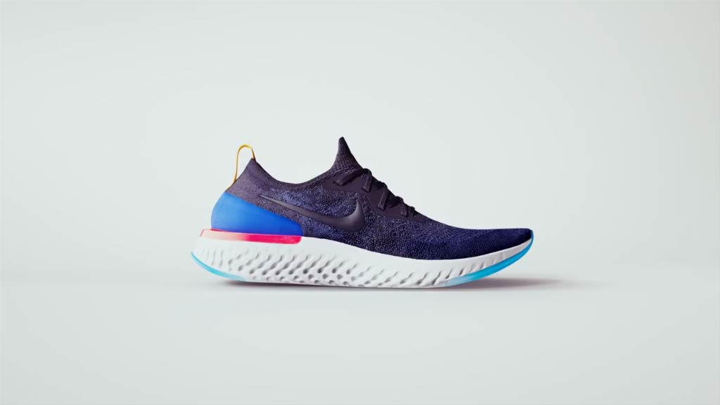 Nike creates the Epic React