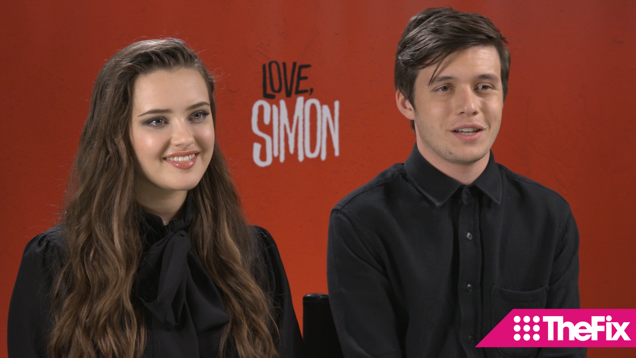 Love, Simon stars Katherine Langford and Nick Robinson talk to TheFIX