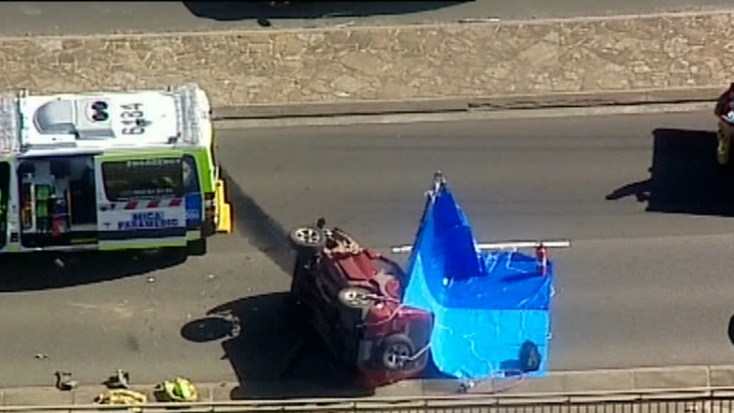 Crash forces closure on Eastern Freeway