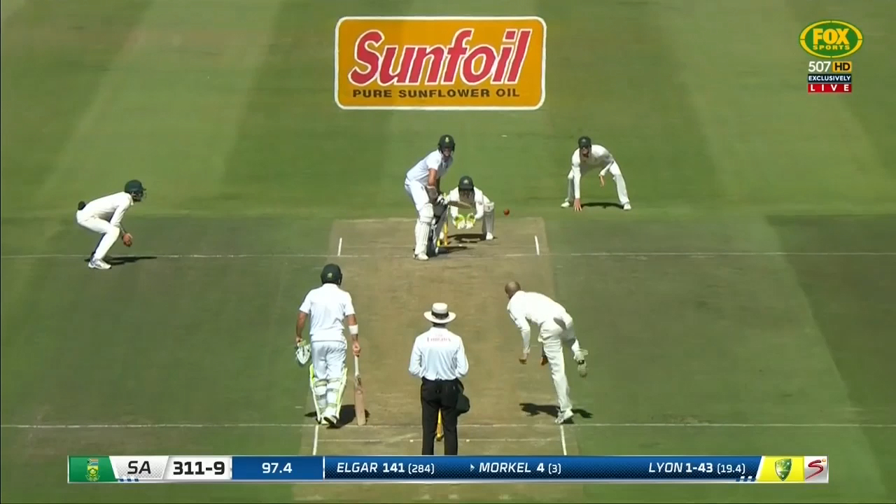 Proteas out for 311