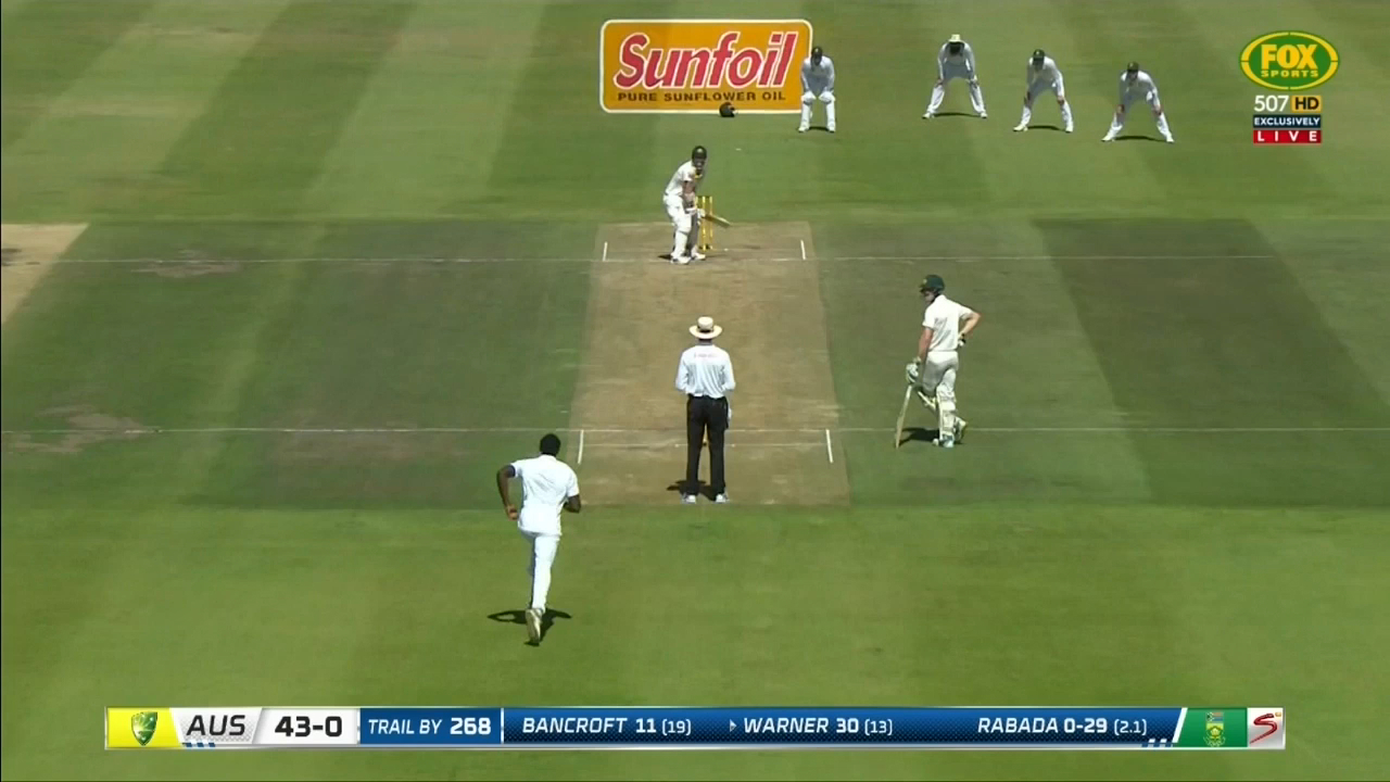 Rabada strikes early