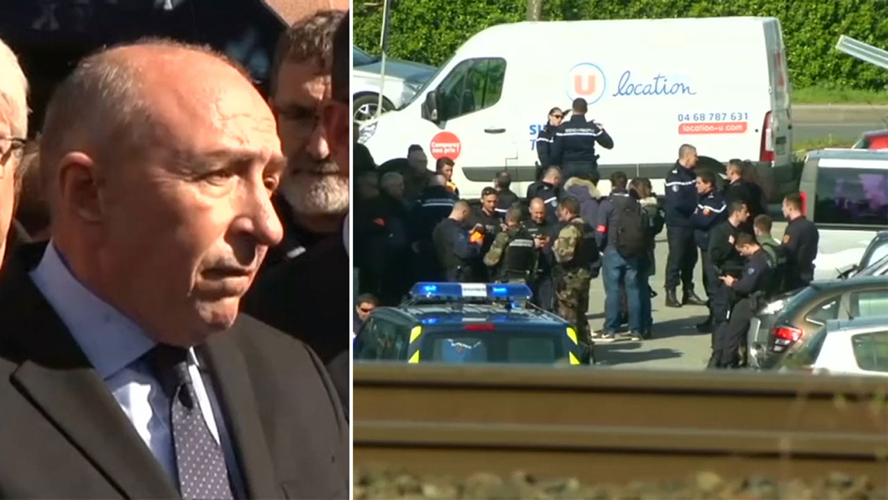 Three people killed in southern France in hostage situation