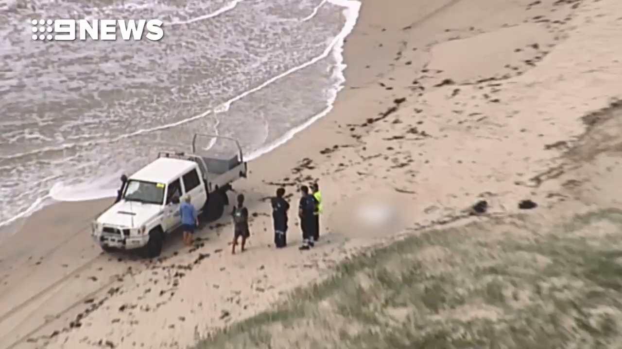 Two bodies found washed up on remote island beach