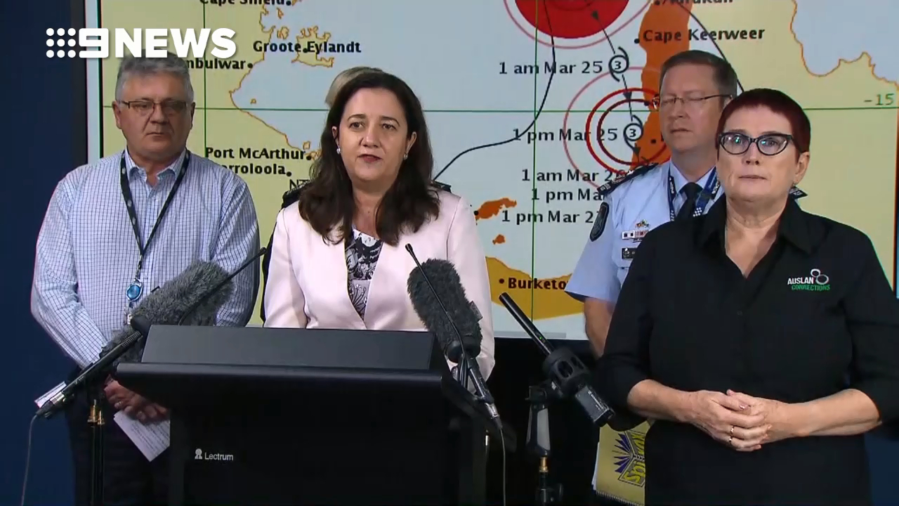 Premier provides update on Cyclone Nora