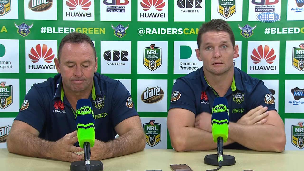 NRL Press Conference: Raiders - Round 3