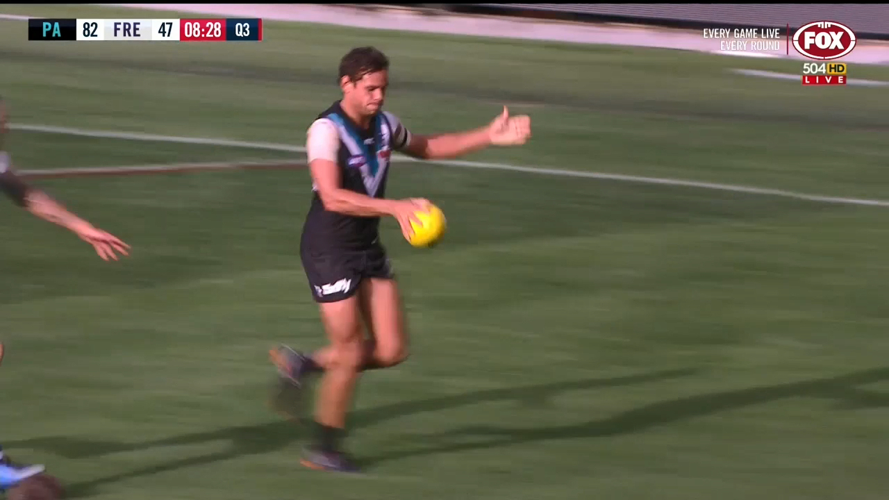 Motlop magic in Port Adelaide