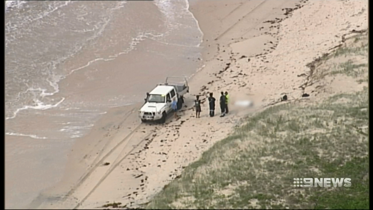 Mystery surrounds pair found washed up on Bribie Island