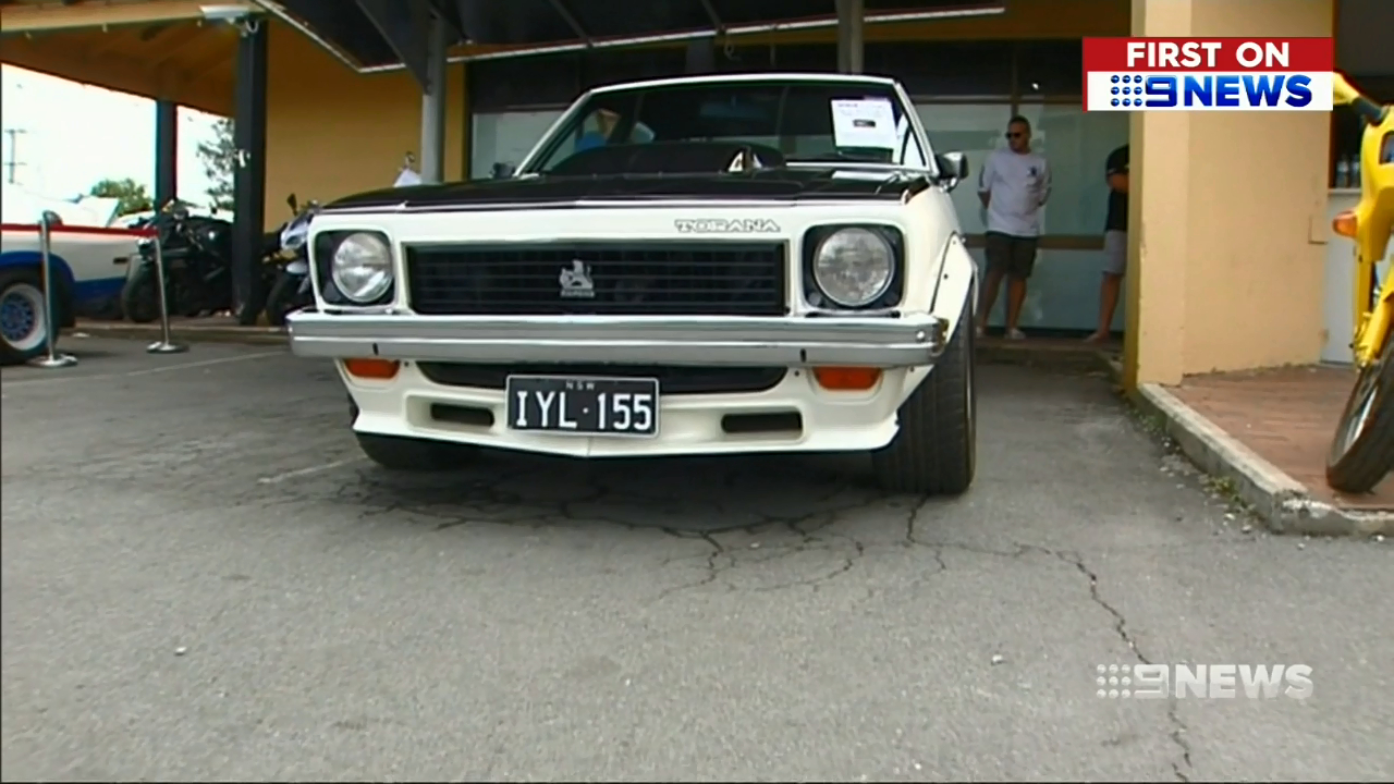 First four-door Torana goes under the hammer