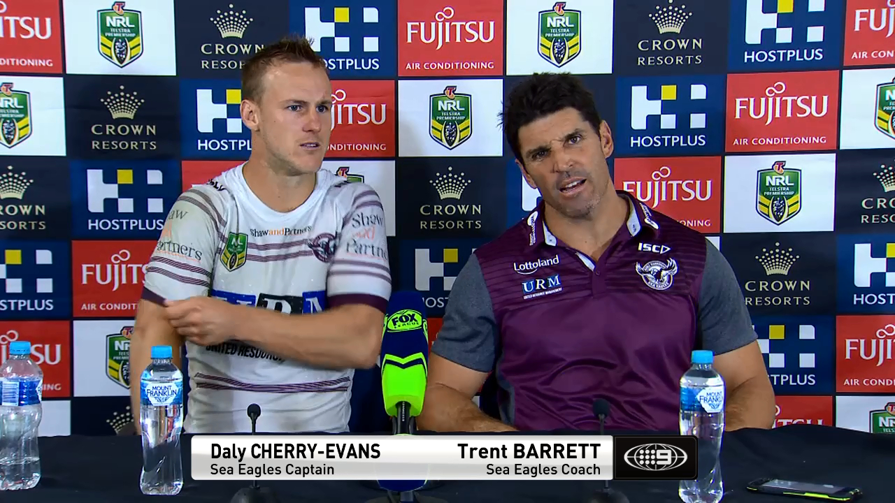 NRL Press Conference: Manly Sea Eagles - Round 3