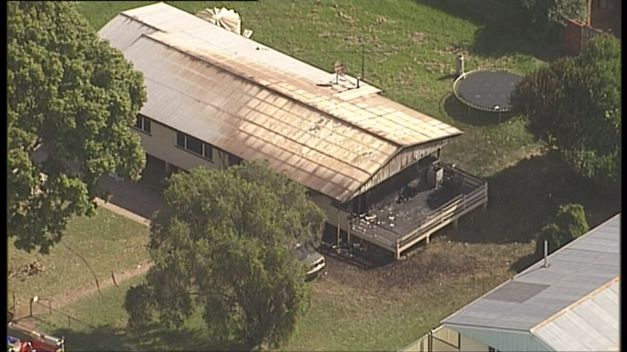 Ferocious blaze tore through a Kingaroy house