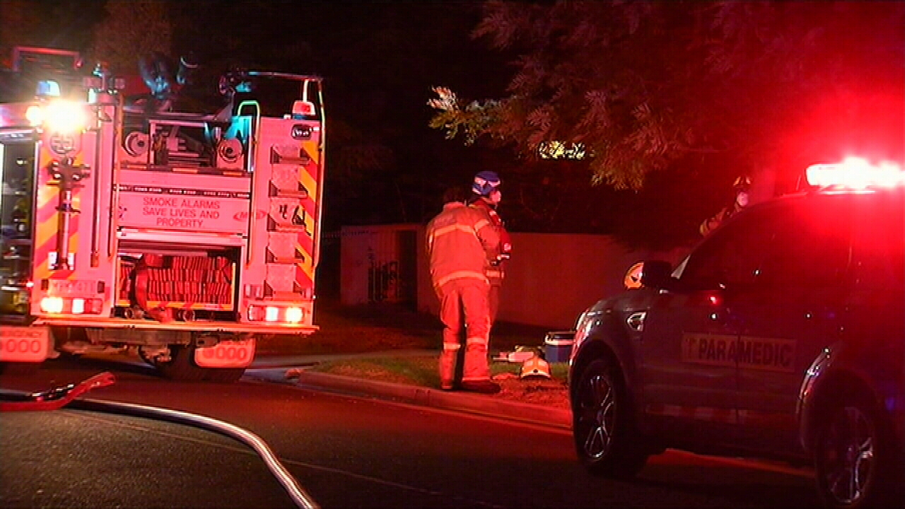 Fire destroys two Melbourne units