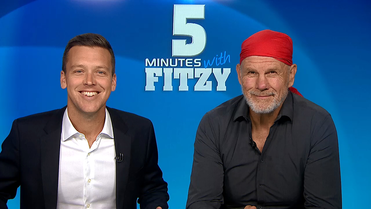 5 Minutes with Fitzy: Put a sock in it