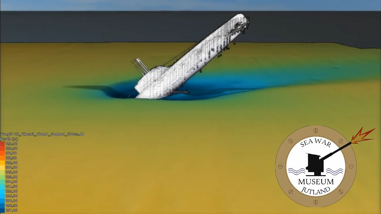 3D render shows WWII submarine