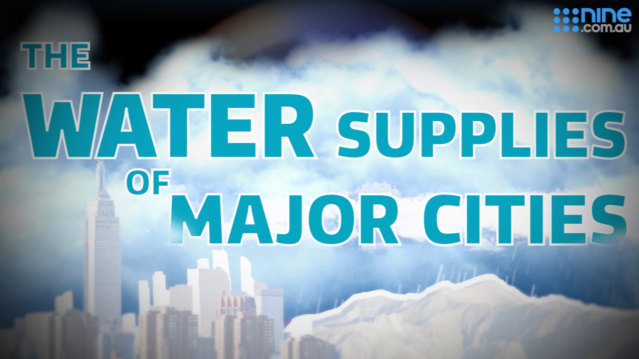 Infographic: The water supplies of major cities